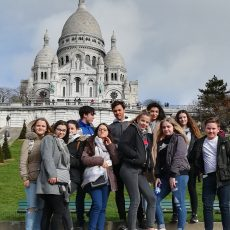 Abschlussfahrt des Französischkurses nach Paris vom 11.3.2019 bis 15.3.2019