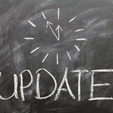 Aktualisierung der Aufgaben für die unterrichtsfreie Zeit